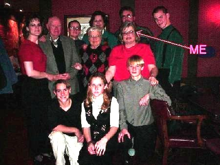 This is a picture of the family at mom and dad's 60th Wedding Anniversary.